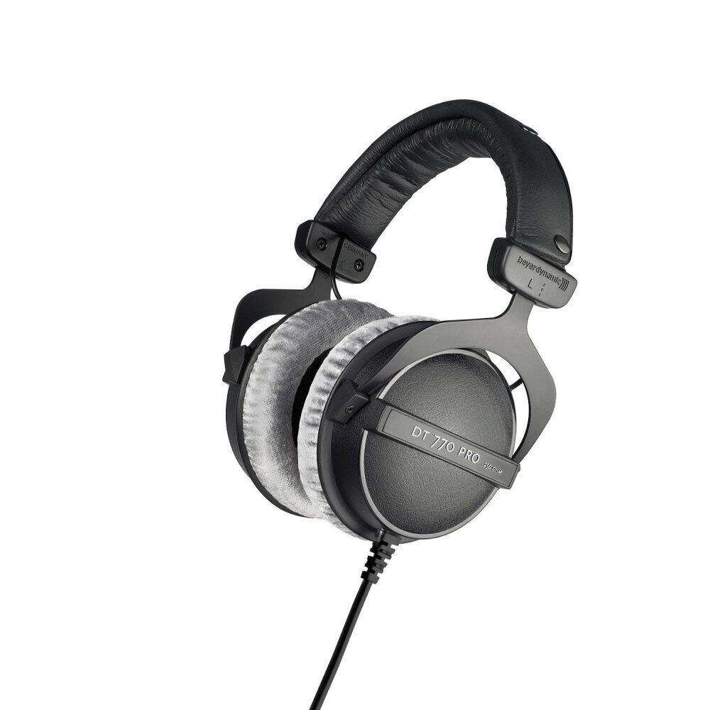 ข้อดีและข้อเสีย Beyerdynamic Headphone รุ่น  DT 770 PRO, 250 Ohms ( DT-770 DT770 หูฟัง ) เสียงดี ลดราคา