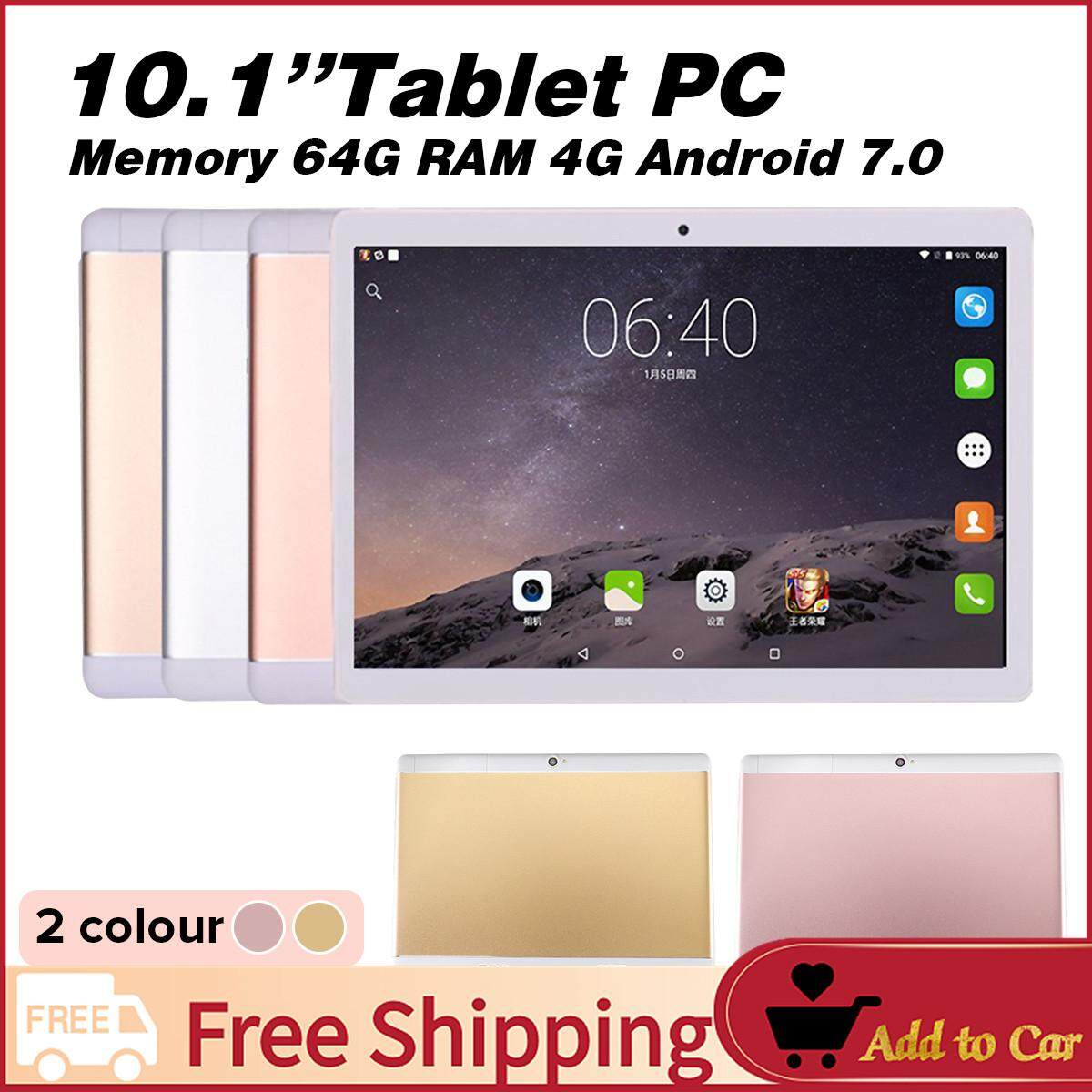 【free Shipping】new 10.1 Tablet Pc Android 6.0 Octa Core 64gb 10 Inch Hd Wifi 2 Sim 3g Phablet By Freebang.