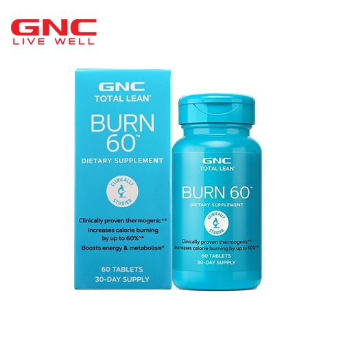fat burn 60 gnc)