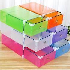 ขาย ซื้อ Bh กล่องDiyจัดเก็บรองเท้า 6กล่อง Set ไทย