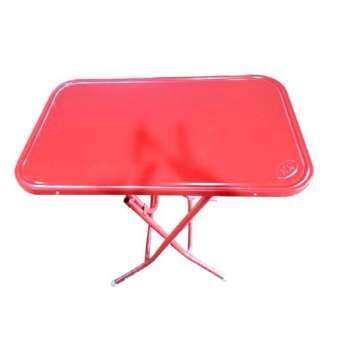 รีวิว BH โต๊ะพับหน้าเหล็ก 4 ฟุต สีแดง