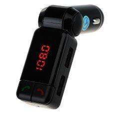 ราคา Big Car Charger Bluetooth เครื่องส่งสัญญาณไร้สายบลูทูธรถยนต์ Bt Bc06 สีดำ Big ใหม่