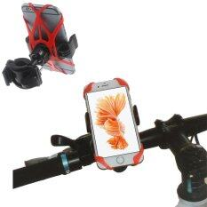 ซื้อ จักรยานที่สำหรับมือจับด้ามจับยางสายผูกสำหรับ Iphone 6 วินาทีบวก Galaxy Note5 ฯลฯ สีแดง Unbranded Generic เป็นต้นฉบับ