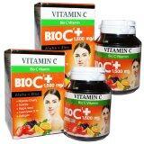 ขาย Bio C Vitamin Alpha Zinc 1 500 Mg ไบโอซี วิตามิน ขนาด 30 เม็ด X 2 กล่อง Bio เป็นต้นฉบับ