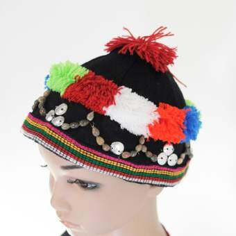 Bkfabric หมวกแม้วชาวเขาหลากสี