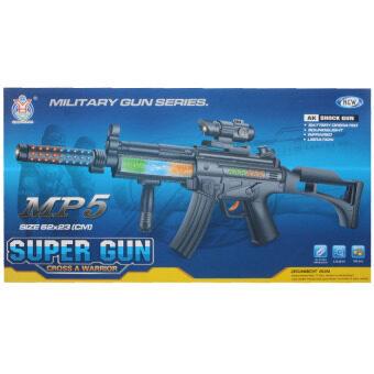 BKL TOY ของเล่น ปืน ปืนยาว ปืนใส่ถ่านมีเสียงและไฟ AK-90E