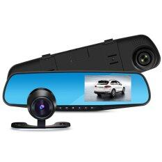 Blackbox  กล้องติดรถยนต์ กระจกกล้องหน้าหลัง FULL HD L9000 เมนูภาษาไทย