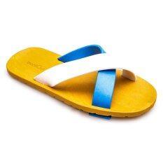 ซื้อ Blackout รองเท้าแตะ Bo 1001 สีฟ้า ขาว ถูก กรุงเทพมหานคร