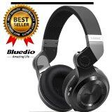 ราคา Bluedio T2 Turbine หูฟังบลูทูธ Bluetooth 4 1 Hifi Super Bass Stereo Headphone รุ่น T2 Black ราคาถูกที่สุด