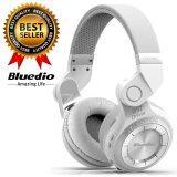 ราคา Bluedio หูฟัง Bluetooth 4 1 Hifi Stereo Headphone รุ่น T2 White ใน กรุงเทพมหานคร