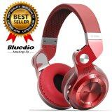 โปรโมชั่น Bluedio หูฟัง Bluetooth 4 1 Hifi Super Bass Stereo Headphone รุ่น T2 Red Bluedio