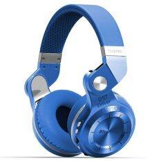 ราคา Bluedio หูฟังบลูทูธ Bluetooth 4 1 Hifi Stereo Headphone Super Bass Gameing รุ่น T2 Plus Blue เป็นต้นฉบับ