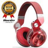ส่วนลด Bluedio หูฟังบลูทูธ Bluetooth 4 1 Hifi Stereo Headphone Super Bass Gameing รุ่น T2 Red Bluedio ใน กรุงเทพมหานคร