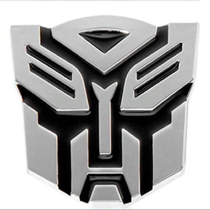 Bluelans 3D Logo Transformers Autobot Emblem Badge Graphics DecalCar Sticker Decal - Intl