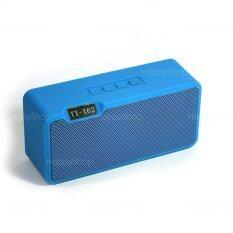 ซื้อ Bluetooth Speaker Yx X62 ลำโพงบลูทูธขนาดเล็กพกพาสะดวก รองรับ Tf Card Usb Smart Speaker สีฟ้า ออนไลน์