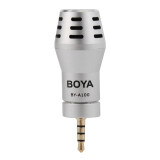 Boya By A100 Condenser Microphone 3 5Mm Omni Directional For Iphone 6S 5S ใหม่ล่าสุด