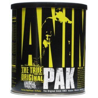 BP MUSCLE - Animal Pak 15 Packs อาหารเสริมวิตามินรวม คุณภาพสูง สำหรับนักเพาะกายและนักกีฬา แบบเม็ด ทานได้ 15 ครั้ง