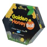ราคา B Secret Golden Honey Ball มาส์กลูกผึ้ง บี ซีเคร็ท กลิ้งแล้วหนืด ยืดแล้วมาส์ก เพื่อผิวสะอาดเนียนใส ชุ่มชื้น บรรจุกล่องละ 4 ลูก 1 กล่อง ราคาถูกที่สุด