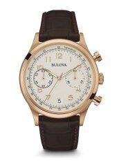 ขาย Bulova Chronograph Classic Quartz Men S Watch รุ่น 97B148 Gold Cream Bulova ออนไลน์