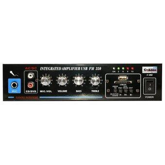 C-Line แอมป์ขยายเสียงHifi ขนาดเล็ก เล่นUSB MP3 SDCARD รุ่น C-002