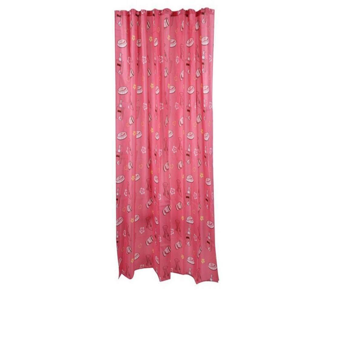 Shower Curtain 180x180 ม่านห้องน้ำ Poly Moya Acs14127 180x180 By The Eight Shop.