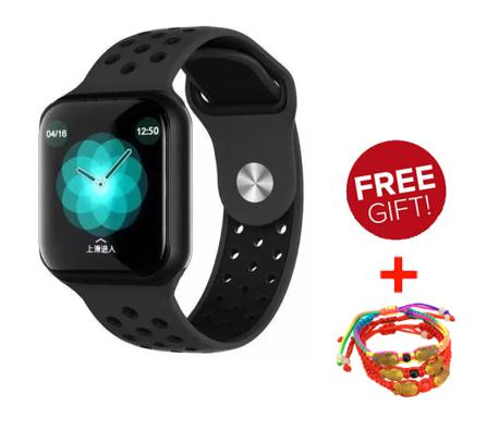 Smartwatchสายรัดข้อมือนาฬิกาตรวจสอบอัตราการเต้นของหัวใจนาฬิกาบลูทู ธ F8โทรออกด้วยเสียงนาฬิการับข้อมูล Iphone/huawei/oppo/xiaomi ทั่วไป.