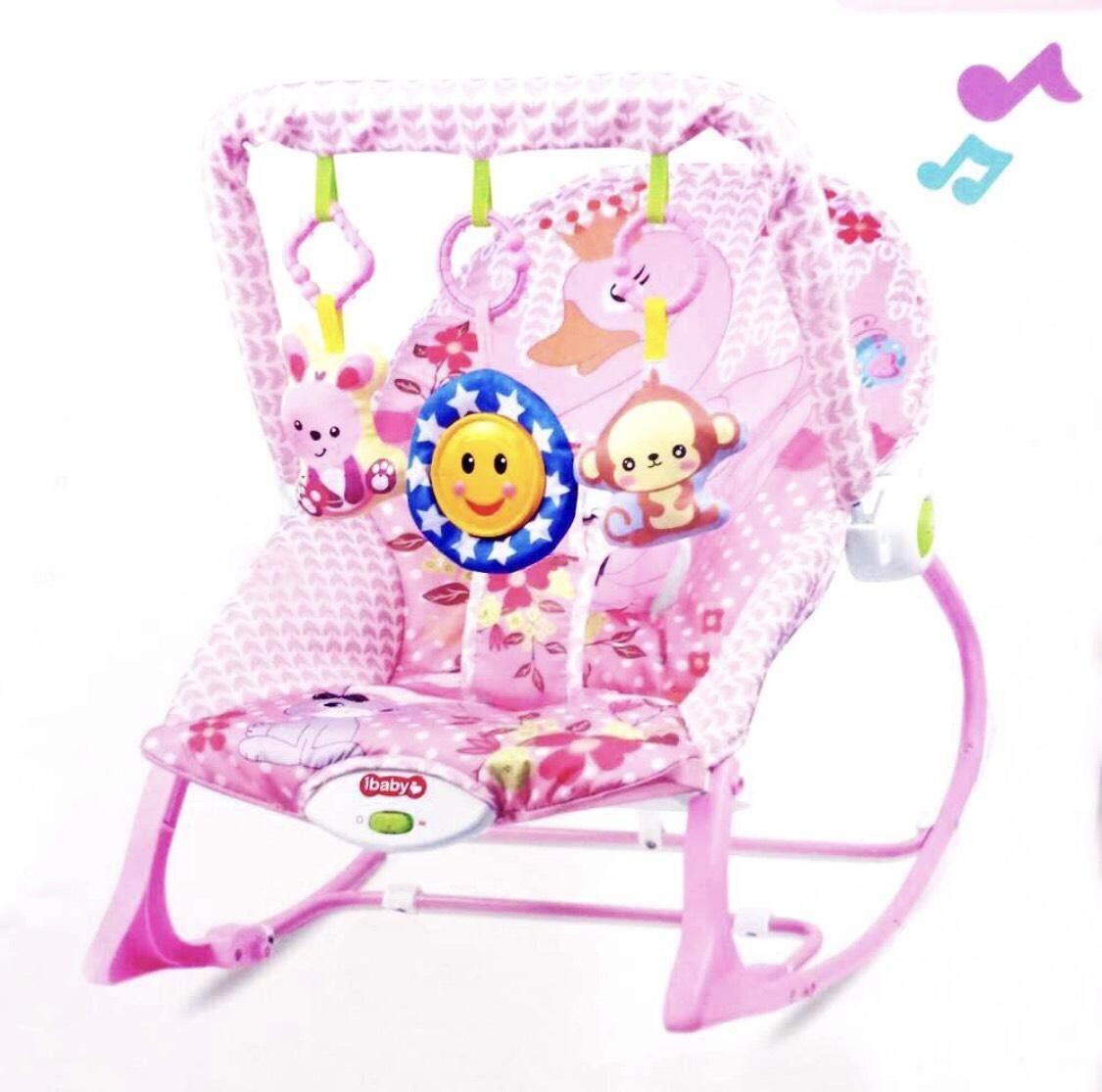 เปลโยก เก้าอี้โยก มีเสียงเพลง Ibaby Infant-to-toddler Rocker พิเศษ