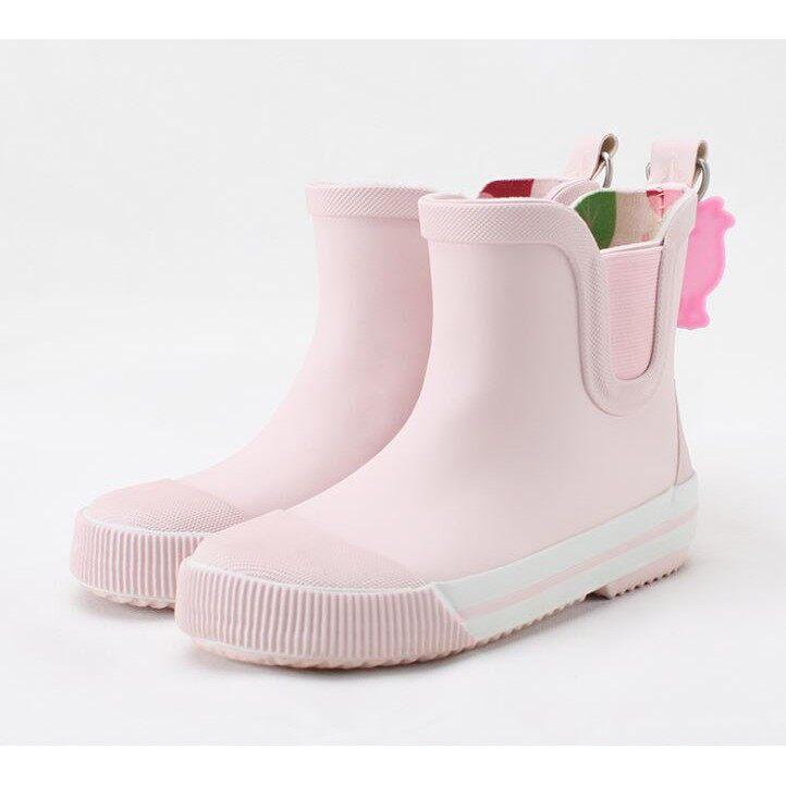 Akachan รองเท้าบู๊ทเด็ก สีชมพู ไซส์ 15.5-16-16.5-17.3-17.7-18.5 ซม..