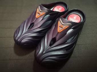 ADDAรองเท้าแตะชายแบบสวม รองเท้าผู้ชายหัวโต ลุยน้ำ แบบสวย กันกระแทกสวมใส่สบายได้ในทุกวัน รุ่น 53301-M1 สีกรม