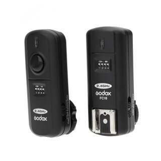 Godox FC-16 2.4GHz 16 Channels Wireless Remote Flash Studio Strobe Trigger Shutter for Canon 5D 6D 7D 5D Mark III 60D 600D 700D 70D 650D 550D thumbnail