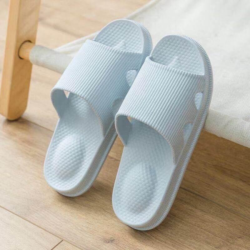 รองเท้าแตะ รองเท้าเพื่อสุขภาพ รองเท้าใส่ในบ้าน รุ่น-เปิดข้าง ยาง Eva กันน้ำกันลื่น.