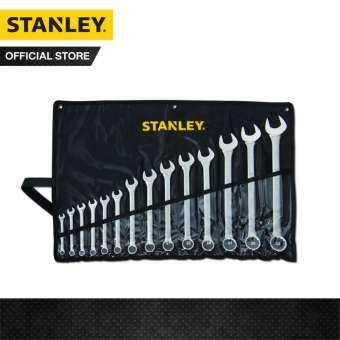 STANLEY ชุดประแจแหวนข้างปากตาย14 ชิ้น STMT80944-8 รุ่น CWB ในซองผ้าสีดำ(8, 9, 10, 12, 13, 14, 17, 19, 21, 22, 24, 27, 30, 32)