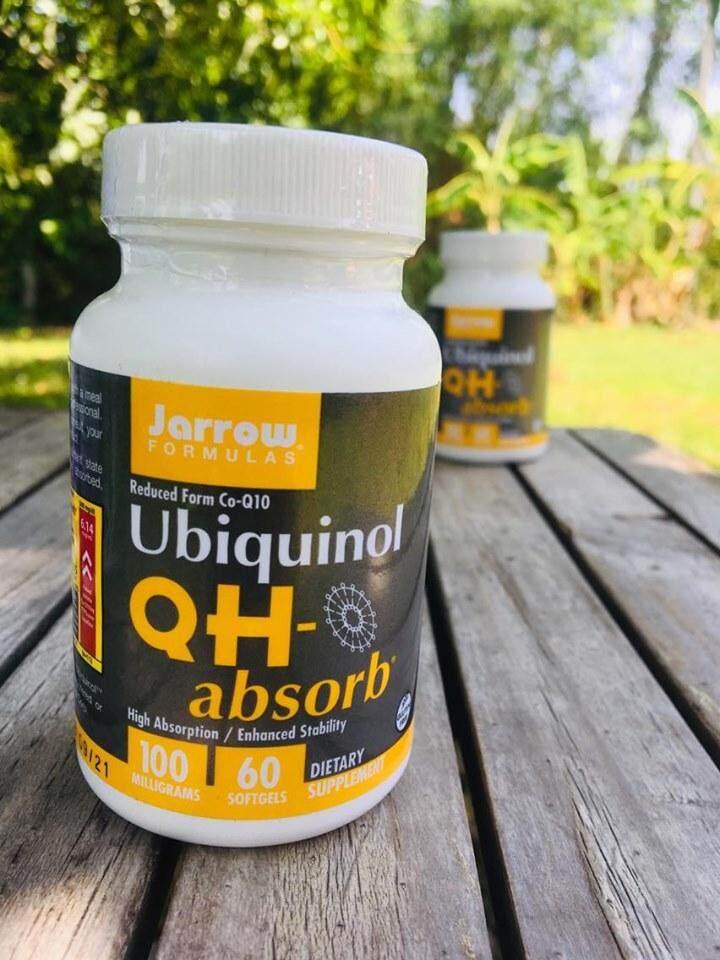 ยูบิควินอล Kaneka Ubiquinol™, Qh-Absorb 100mg 60 ซอฟท์เจล (jarrow Formulas®) ช่วยโรคหัวใจ  ผิวเต่งตึง.