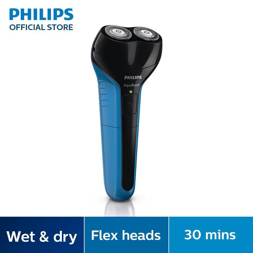 Philips Aquatouch เครื่องโกนหนวดไฟฟ้าแบบเปียกและแห้ง At600/15 By Philips Official Online Store.
