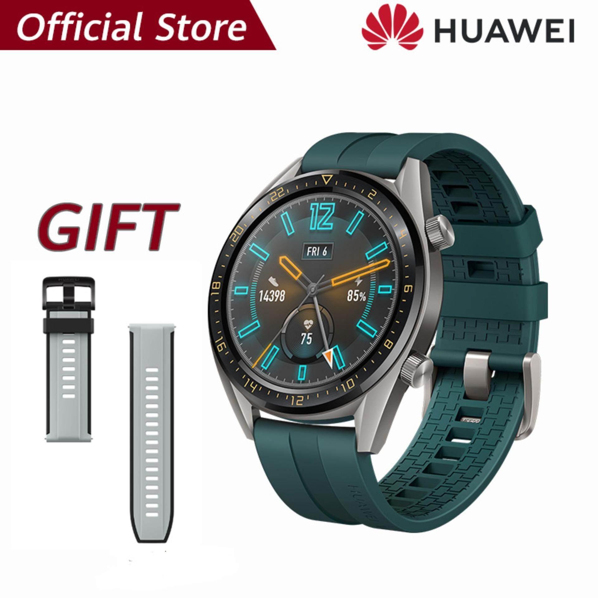 【ผ่อน 0% 10 เดือน】Huawei Watch GT แบตเตอรี่ที่แข็งแกร่ง*รับของแถม Huawei strap(Gray)