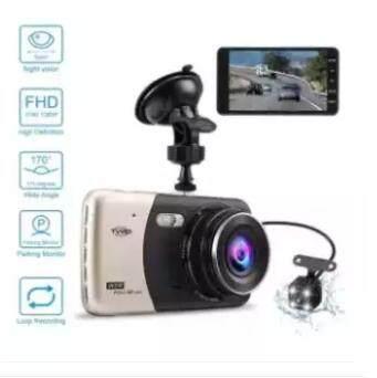 A503กล้องติดรถยนต์ กลางคืนสว่างที่สุด Wdr + Super Night Vision + Ldws (เตือนออกนอกเลนส์) +fcws (เตือนรถใกล้คันหน้าเกินไป) + Parking Monitor บอดี้โลหะ จอใหญ่ 3.0นิ้ว Fhd 1080p เมนูไทย รุ่น T990se (silver) - มีคลิปวีดีโอในซอยมืดเปรียบเทียบกั ( ซื้อ 1 แถม 2).