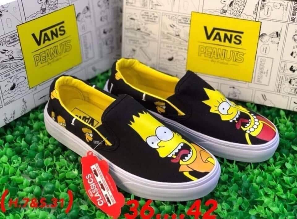 Vans Slip on x simpson: ซื้อขาย รองเท้าผ้าใบผู้ชาย ออนไลน์ใน