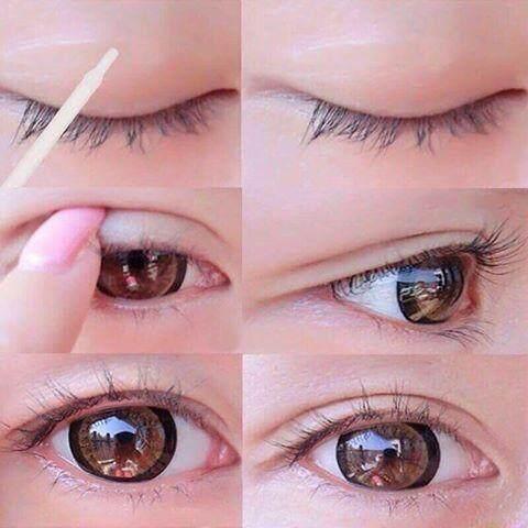 Lip Hop กาวเจลทำตา 2 ชั้น + ไม้ทำตา 2 ชั้น.