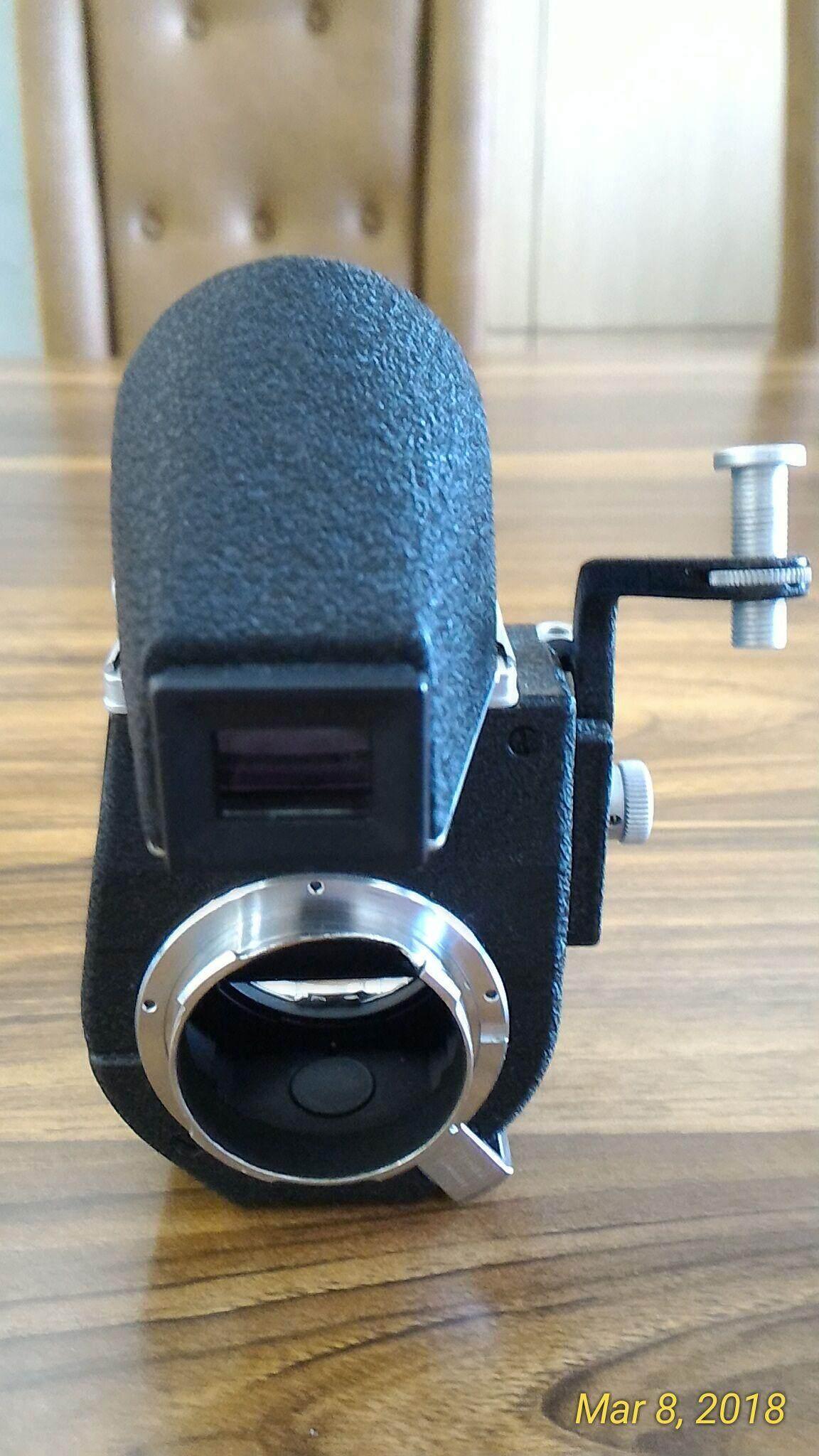 Mint Leitz Leica Visoflex Iii Reflex Housing W/4x Magnifier & Box For M2 M3 M4.. By Petiteit.