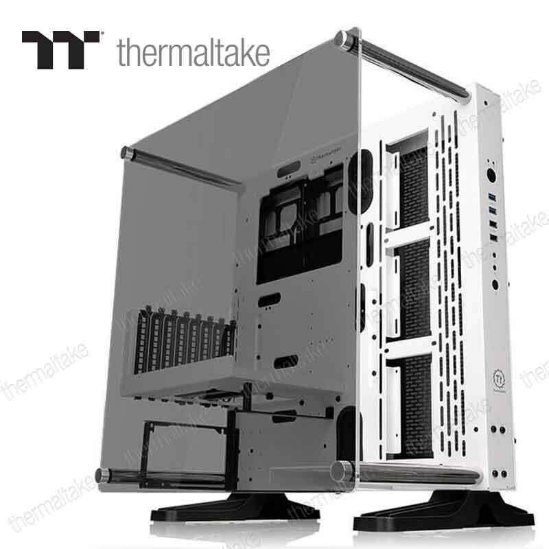 Thermaltake Case Core P3 Tempered Glass Snow Edition [white] By Jura.