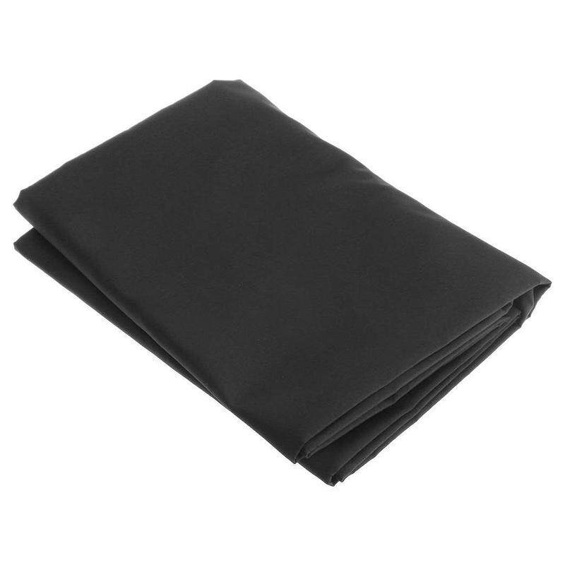 88 Key Electronic Piano Keyboard Cover on Stage Dustproof Thickened Black 134X29X14cm