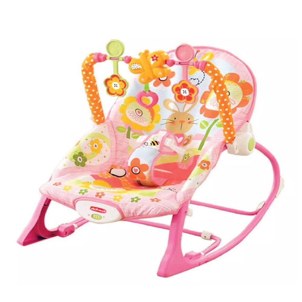 โปรโมชั่น เปลโยก-สั่น มีเสียงเพลง ibaby Infant-to-toddler Rocker