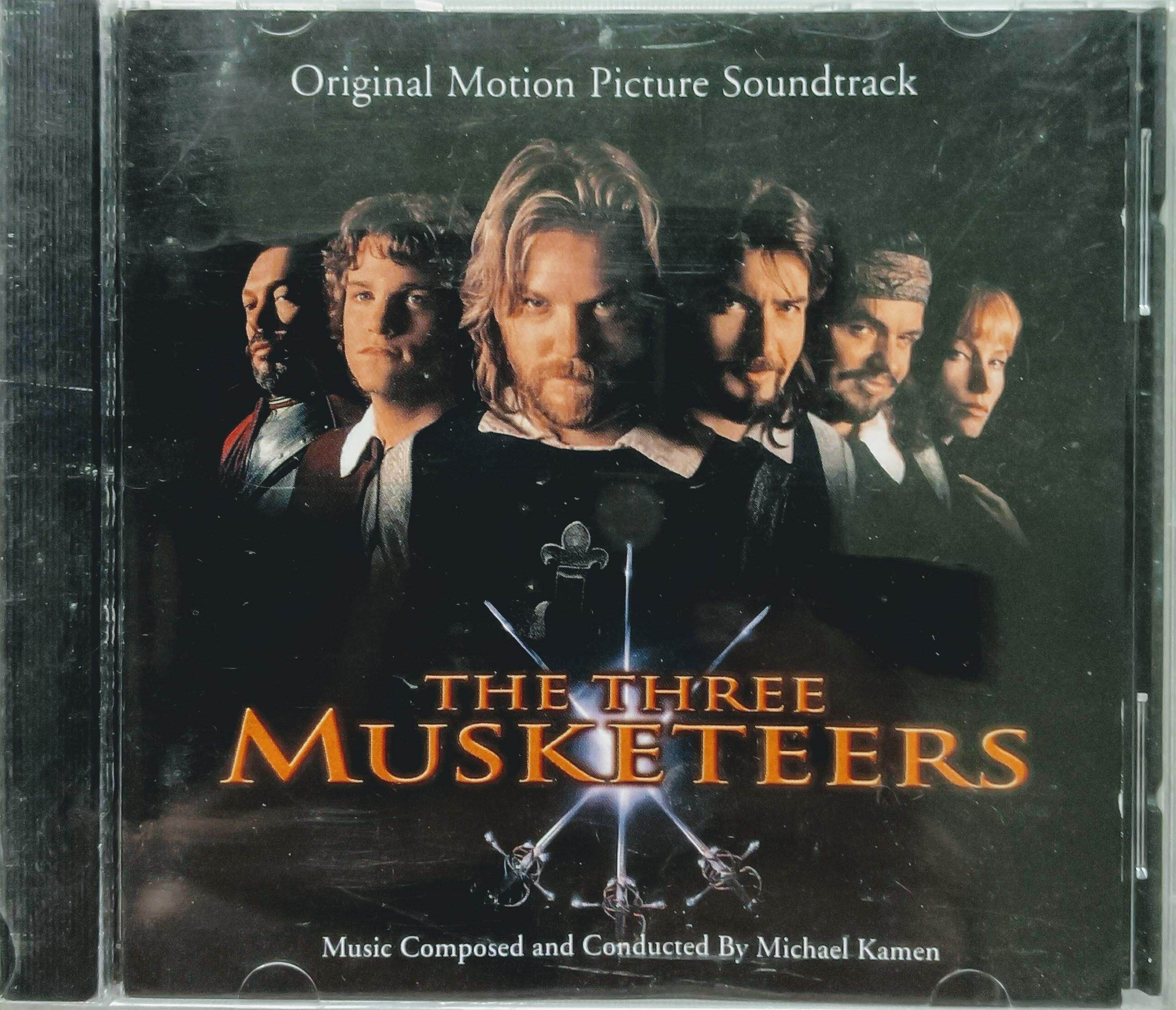 Cd Various Artists - The Three Musketeers (the Original Soundtrack From Motion Picture) By Yin Yang Shop.