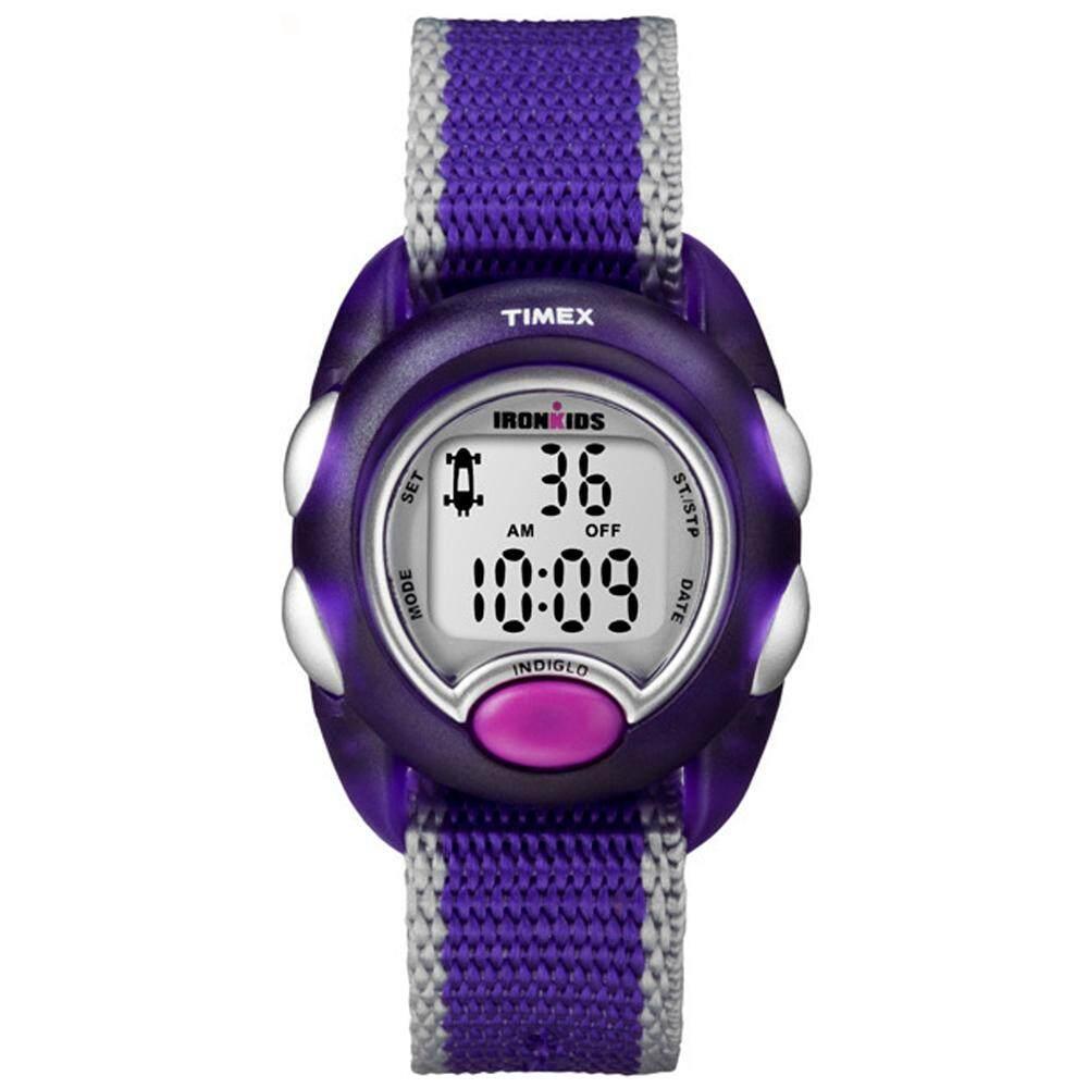 Timex IronKids นาฬิกาข้อมือเด็ก รุ่น T7B983 - Silver/Purple