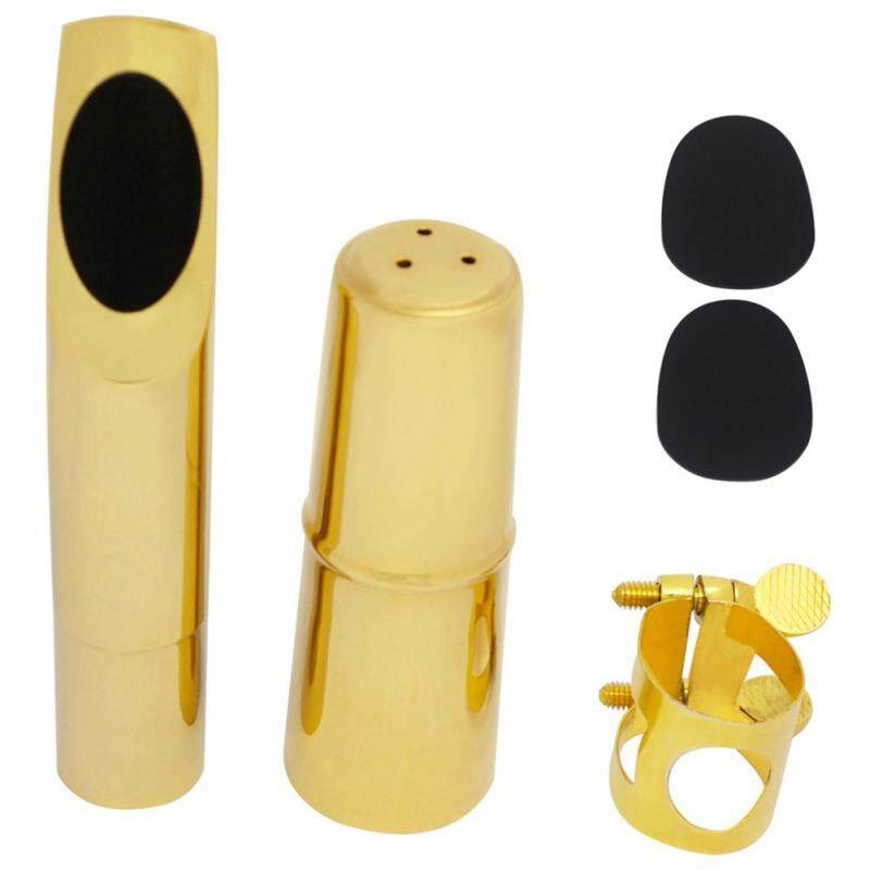 Jazz Tenor Sax Saxophone Mouthpiece Metal with Mouthpiece Patches Pads Cushions Cap Suitable for professional saxophonists Malaysia