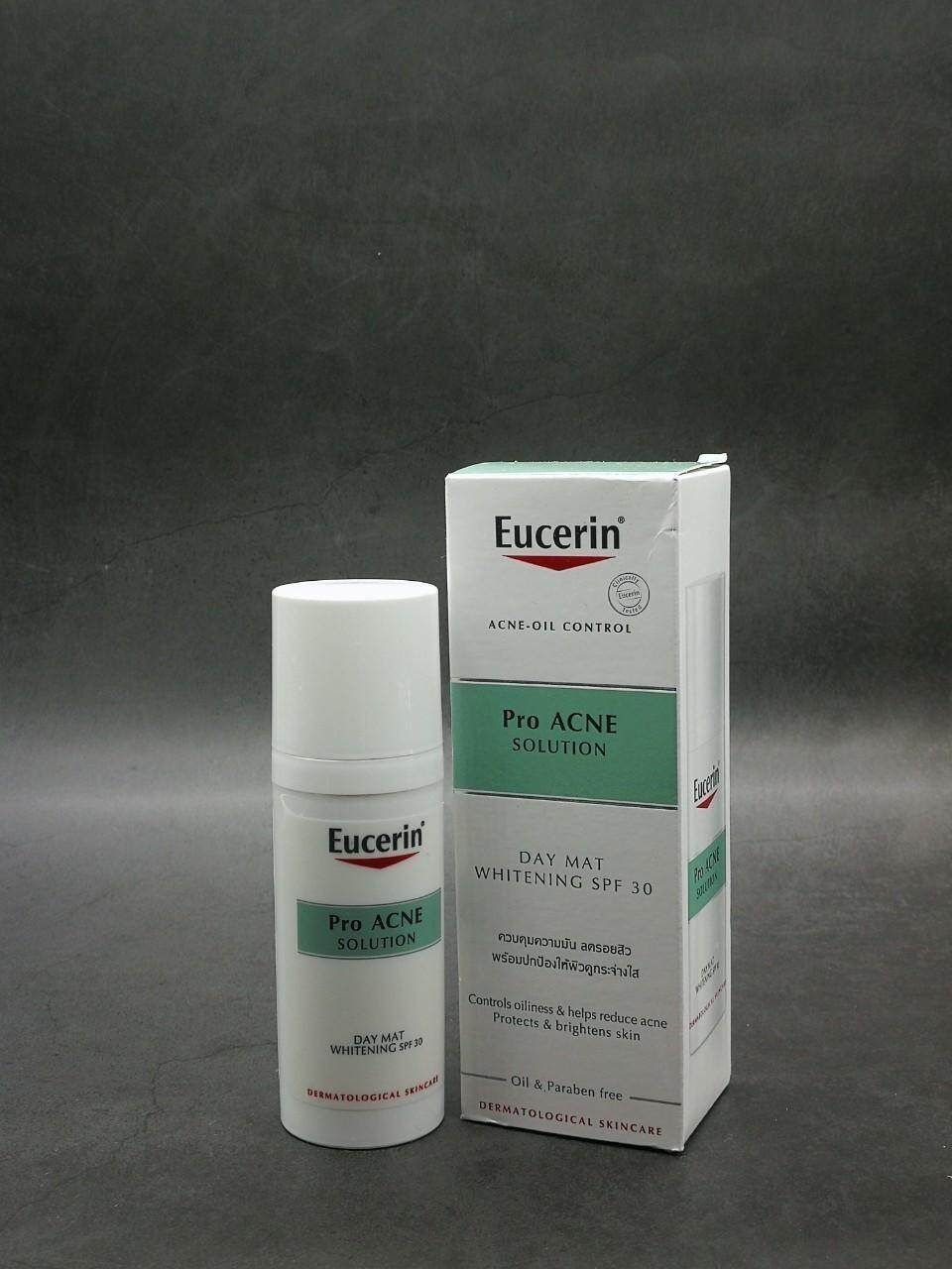 [012] Eucerin Pro Acne Solution Day Mat Whitening Spf30.