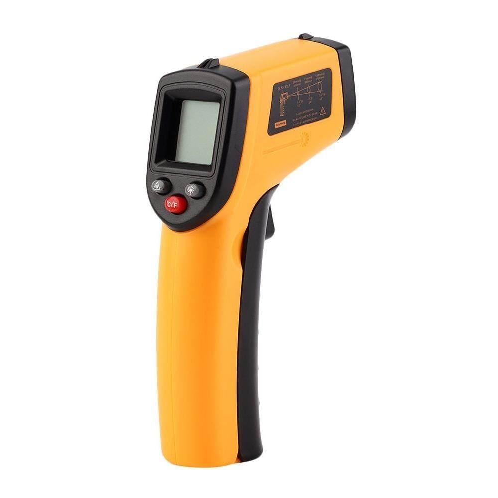 Infrared Thermometer-50 ~ 380°c 12:1 Handheld Non-Contact อินฟราเรด Ir อุณหภูมิเครื่องวัดอุณหภูมิ Pyrometer จอแสดงผล Lcd พร้อม Backlight By Shopping_mall.