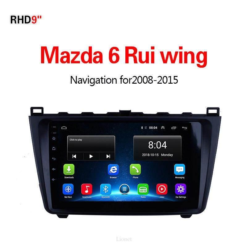เครื่องนำทาง สำหรับรถยนต์ Mazda 6 Rui Wing 2008-2015 9 Inch Android 6.0 4g Net 1g/16g แผนที่ในการนำทาง By Gointer.