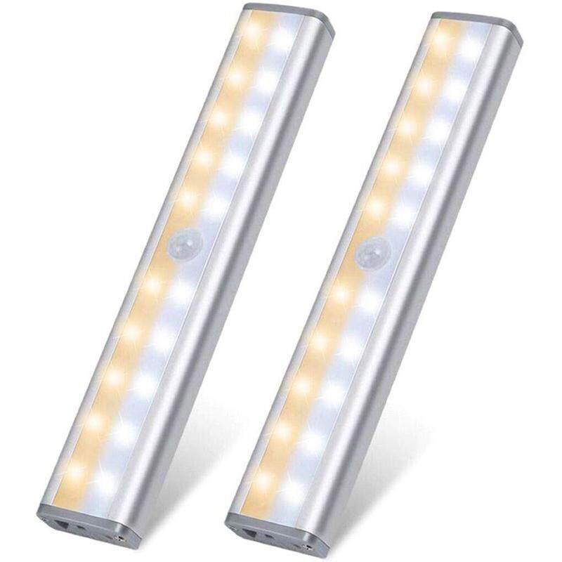 BW-LT8 PIR Motion Sensor LED Cabinet Light 3000K Color Temperature 160 Lumens