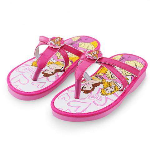 รองเท้าแตะสำหรับเด็ก รุ่น BC1007 ลายเจ้าหญิง สีชมพู ขนาด 29